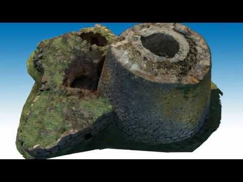 Nuraghe Oes in 3D: laserScanner e fotogrammetria come strumenti di studio