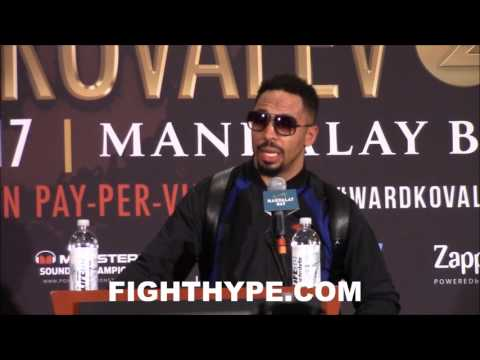 "ANDRE WARD BREAKS DOWN KOVALEV'S MISTAKES; SAYS 3RD FIGHT MAKES NO SENSE: ""IT COULD HAVE GOT UGLY"""