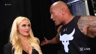 The Rock returns to Raw!   January 25, 2016