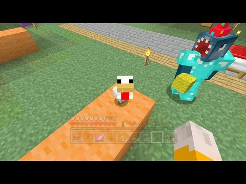 Minecraft Xbox - Quest For A Pet Chicken (45)