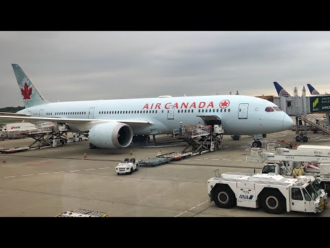 【Flight Report】Air Canada Boeing 787-9 Dreamliner Economy From Tokyo Narita To Vancouver