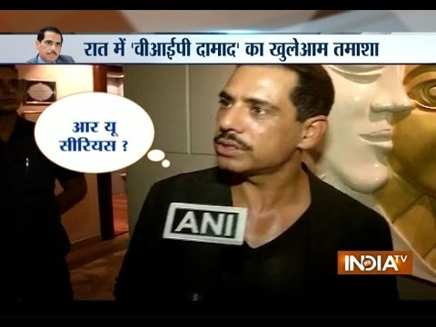 Sonia Gandhi's son-in-law Robert Vadra Snaps At TV Reporter