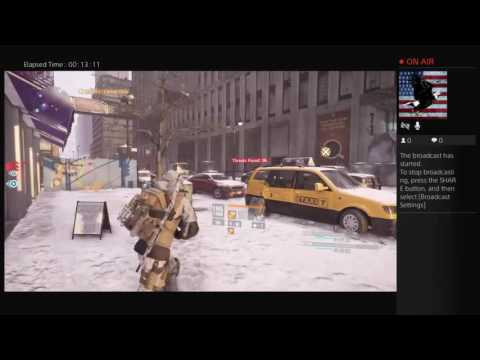 U.S. Marine Playing the Division