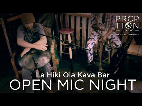 Open Mic Night La Hiki Ola Kava Bar - Pahoa, Hawaii