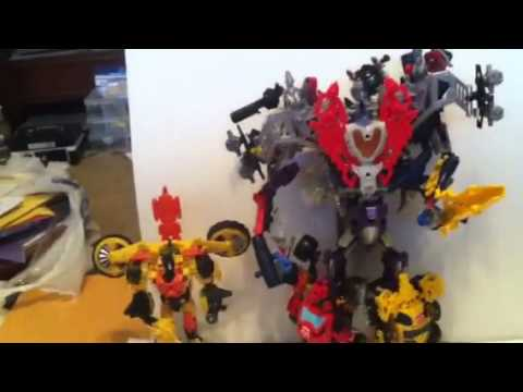 Custom Transformers Construction Bots How To Combine 6