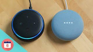 Google Nest Mini vs Amazon Echo Dot