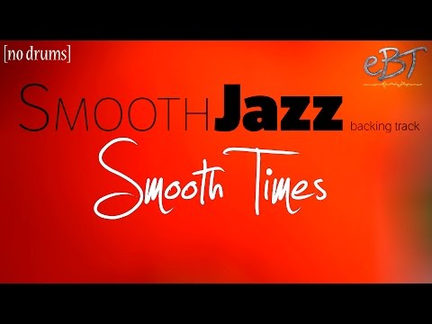 Smooth Jazz Backing Track in F minor | 100 bpm [NO DRUMS]