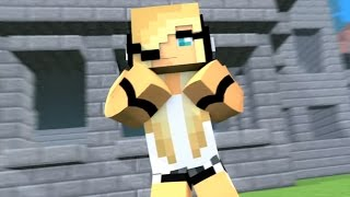 "Minecraft Songs 1 Hour Version ""Shake My Axe"" Psycho Girl 4 and Little Square Face Minecraft Songs"