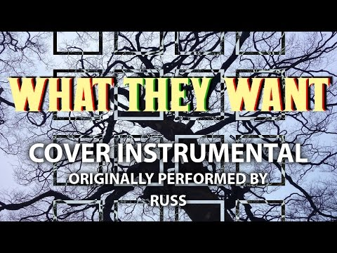 What They Want (Cover Instrumental) [In the Style of Russ]
