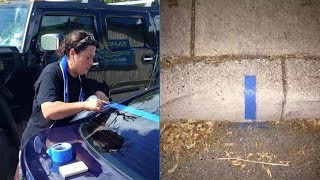 How A Simple Sign Allowed A Lady To Support Police Officers