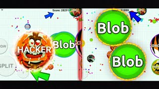 BLOB.IO THE BEST AUTO-POPSPLIT AND THE LUCKIEST PLAYS OF ALL TIME!!(blob.io)