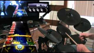 Get Free - Rock Band 3 Pro Expert Drums - 5GS* 100% FC w/ 3 Cymbals (2nd Place on PS3)