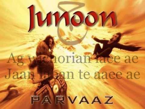 JUNOON-Ronde Naina (with lyrics karaoke)...