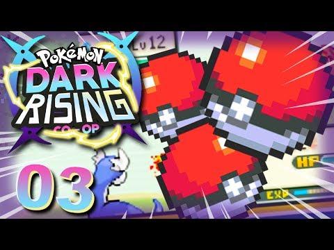 LE NOSTRE PRIME CATTURE RARISSIME! - Pokémon Dark Rising Co-Op Ep 3 w/ Dlarzz & Tuberanza!