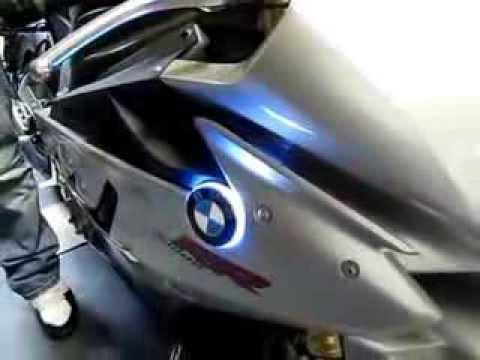 Bmw S1000rr Lit Up Logo And Turn Signal Integration Moto