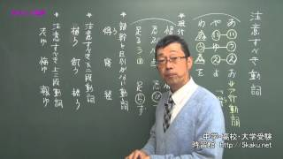 動画を見るだけで古典文法がしっかりわかり、必ずできる! 第3回は「注...