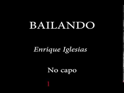 BAILANDO - ENRIQUE IGLESIAS Easy Chords and Lyrics