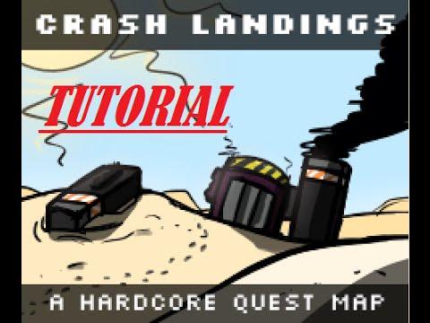 FTB Crash Landing Tutorial, Easy Obsidian, End Stone, Netherrack and Soul sand
