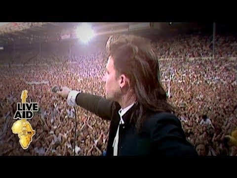 Big Rig - #LiveAid 34 Years Ago - U2 Performs Bad