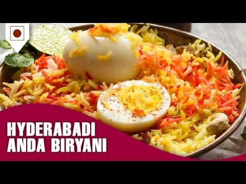 How to make Hyderabadi Egg(Anda) Biryani - Easy Cook with Food Junction