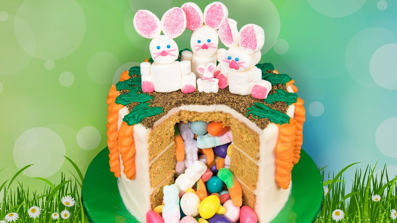 Cute Easter Egg Wallpaper Easter Candy Pinata Cake From Cookies Cupcakes And Cardio
