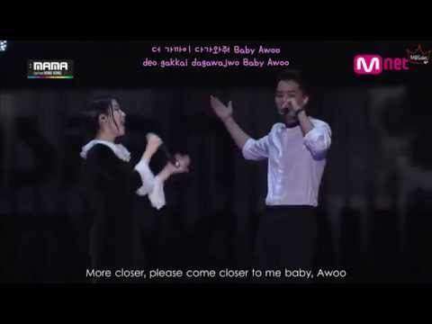 MAMA 2014 IU - Friday ft. Song Mino of WINNER (ENG/ROM/HAN)