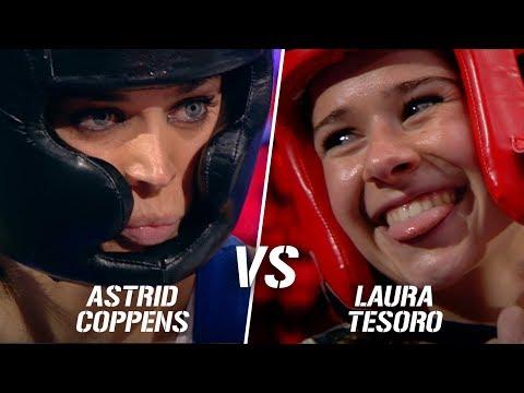 Astrid Coppens Vs. Laura Tesoro | Boxing Stars
