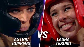 Astrid Coppens vs. Laura Tesoro   Boxing Stars