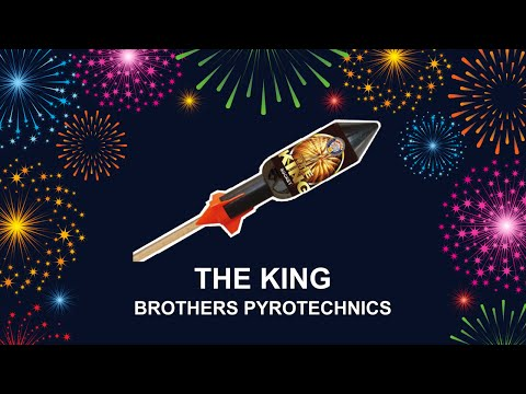 The King - Brothers Pyrotechnics (Fireworks, Cambridge)