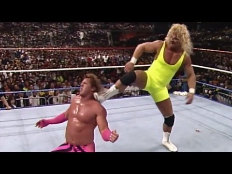 "Brutus ""The Barber"" Beefcake Vs. Mr. Perfect: WrestleMania VI"