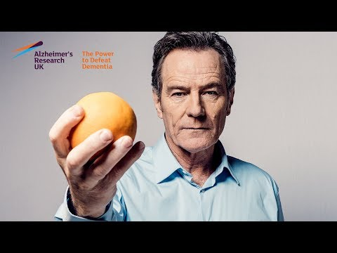 Alzheimer's Research UK's #ShareTheOrange with Bryan Cranston