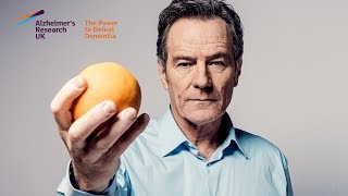 Alzheimer's Research UK's #ShareTheOrange with Bryan Cranston