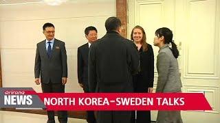 North Korea, Sweden extend talks to third day