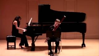 Tommy Morrison - Jacobi: Introduction, Theme, and Variations for Bassoon and Piano, op. 10