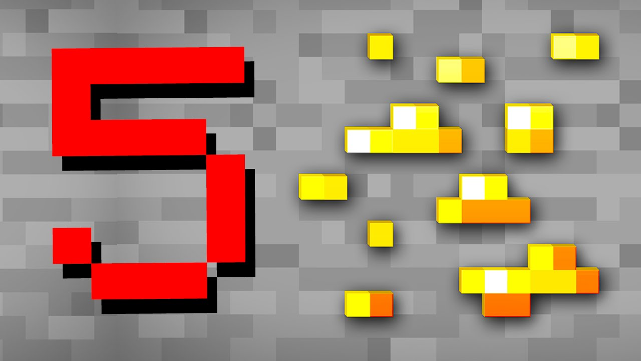 Minecraft 5 Things You Didn T Know About Gold Youtube
