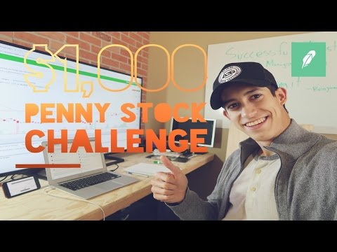 $1,000 to $20,000 Penny Stock Challenge | Day Trader Growth Plan