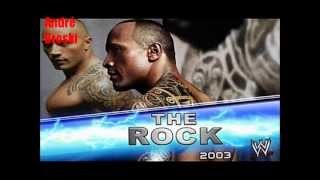 WWE - The Rock Theme Songs Montage 1996-2011 (HD Screen)