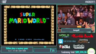 Awesome Games Done Quick 2015 - Part 7 - TASbot plays a mystery game by dwangoAC and p4plus2