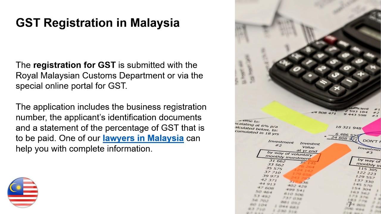 Vat Sst Registration In Malaysia