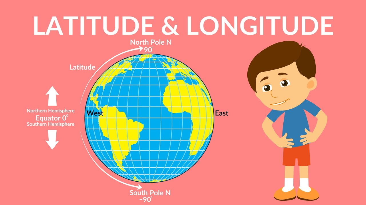 medium resolution of Latitude and Longitude   Time Zones   Video for Kids - YouTube