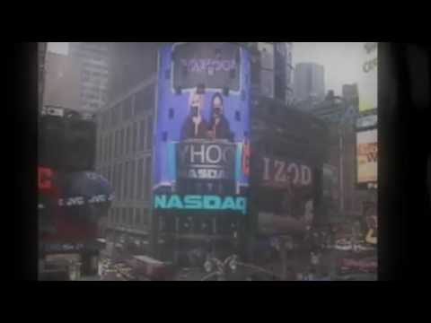 Yahoo!s Ring Opening Bell at NASDAQ