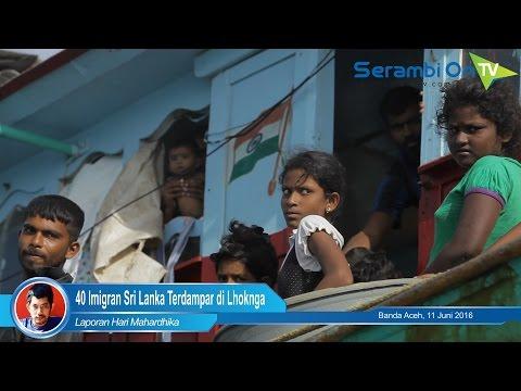 40 Imigran Sri Lanka Terdampar di Lhoknga