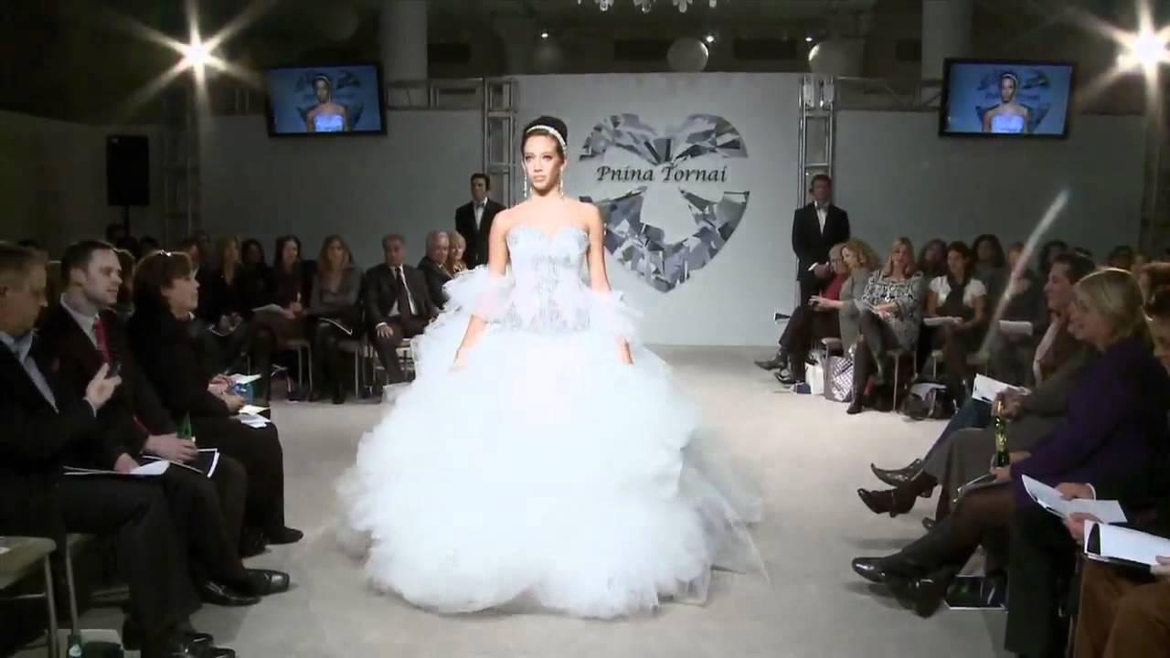 Pnina Tornai - Ball gown - YouTube