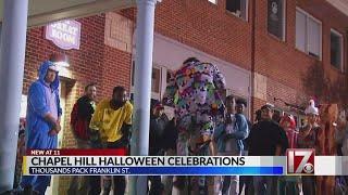 Franklin Street hosts Halloween in Chapel Hill
