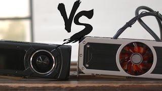 GPU Wars: NVIDIA GTX Titan X vs AMD R9 295X2!