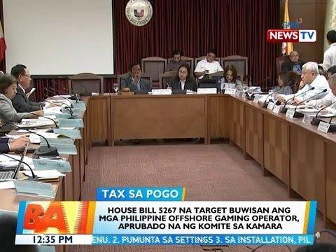 BT: House Bill 5267 na target buwisan ang mga POGO, aprubado na ng komite sa Kam