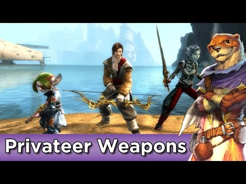 Privateer Weapons Set Preview ► Guild Wars 2