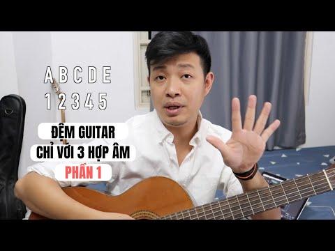 Đệm Hát Trăm Bài Chỉ Với 3 Hợp âm (phần 1) #guitartalk