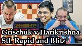 Current Events: Grischuk vs Harikrishna StL Rapid and Blitz (2020)