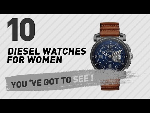 Top 10 Diesel Watches For Women // New & Popular 2017